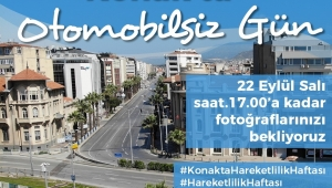 Avrupa Hareketlilik Haftasında Konak'ta yarışma heyecanı