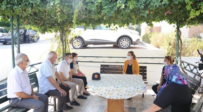 Başkan Çalkaya Gazileri evlerinde ziyaret etti