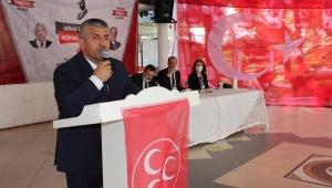 MHP İzmir İl Başkanı Şahin; Liderimizin Emrindeyiz