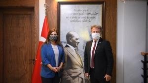 Milletvekili Kılıç'tan Başkan İduğ'a ziyaret