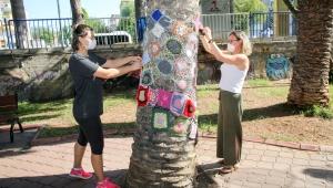 Şirinyer Parkı'na kadın eli değdi