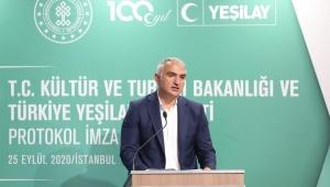 T.C. Kültür ve Turizm Bakanlığı ve Yeşilay bağımlılıkla mücadele için güçlerini birleştirdi