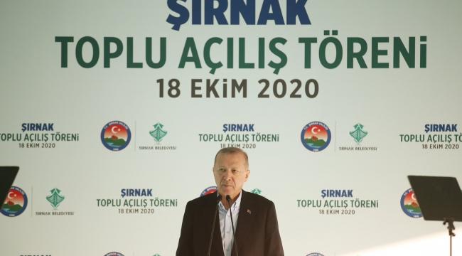 """""""18 yıldır hiçbir ayrım yapmadan hizmet üretiyor, 81 vilayetimizin tamamına eserlerimizle mührümüzü vuruyoruz"""""""