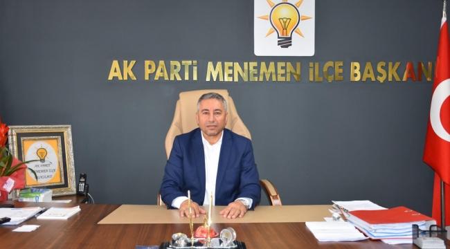AK Parti Menemen'de, CHP'li Ünal'ın istifası sonrası açıklama