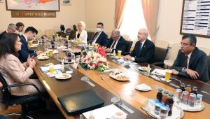 CHP Genel Başkanı Kılıçdaroğlu İsveç Dışişleri Bakanı Ann Linde İle Görüştü