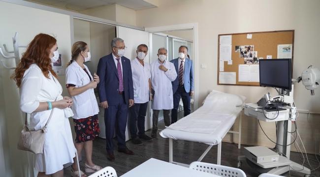 EÜTF Hastanesine yatırımlar sürüyor