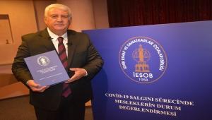 İESOB Başkanı Mutlu: 'Önerilerimizin dikkate alınması camiamızı sevindirdi…'
