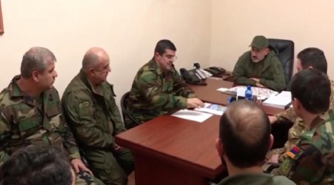 Paşinyan provokasyon peşinde: Karabağ'da cephe hattını ziyaret etti