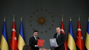 """""""Ukrayna'nın egemenliğini, Kırım dâhil toprak bütünlüğünü ve siyasi birliğini hep destekledik, destekleyeceğiz"""""""