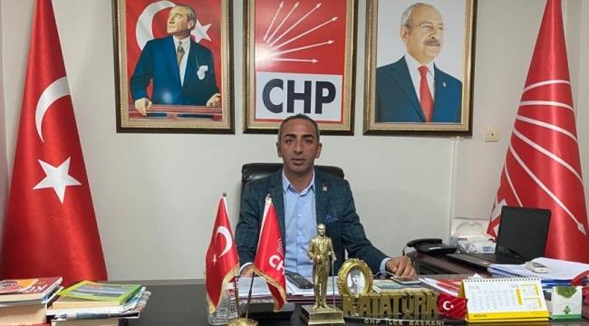CHP Menemen İlçe Başkanlığından Açıklama
