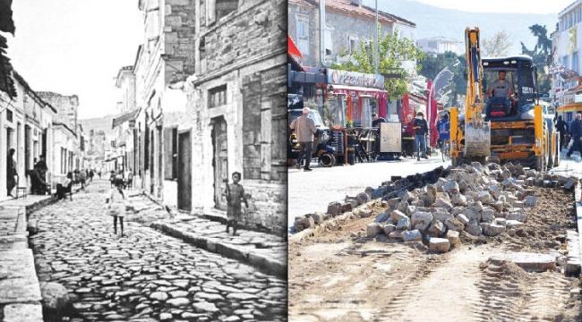 Foça'daki kara taş efsanesine kepçe,Vatandaş Tepkili