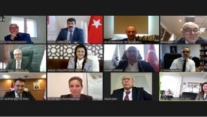 İzmir'in Üniversiteleri Online Toplantıda Buluştu