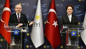 Kemal Kılıçdaroğlu ile Meral Akşener bir araya geldi