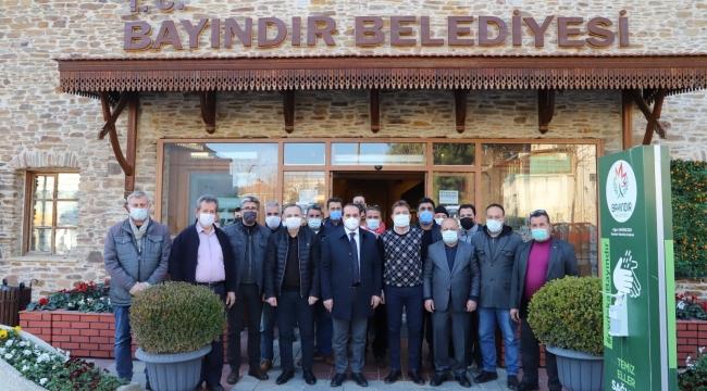 Ak Parti'li Kırkpınar'dan Bayındır Mesaisi