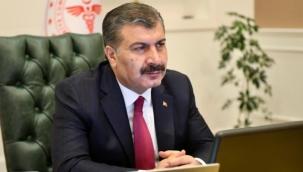 Bakan Koca'dan Meclis'te temsil edilen siyasi parti genel başkanlarına aşı daveti