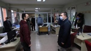 Başkan Koştu'dan belediye çalışmalarına inceleme