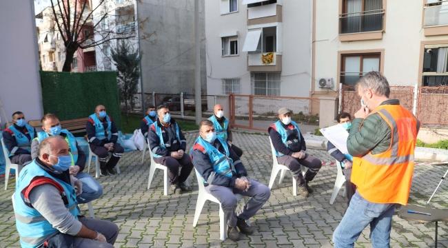 Bayraklı Belediyesinde Çalışanlara Meslek Yeterlilik Sınavı