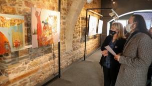 Bodrum'da Aynı Gün İki Sergi Sanat Sever İle Buluştu