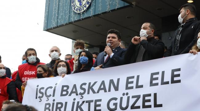 Buca Belediyesi'nden işçisine rekor zamlı TİS