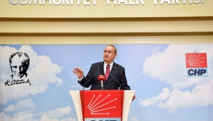 CHP Sözcüsü Faik Öztrak'dan Açıklamalar