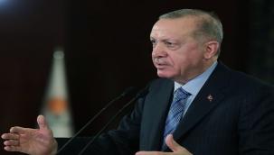 """Erdoğan; """"İlk günkü aşkla, ilk günkü heyecanla ülkemize hizmet etmeyi sürdüreceğiz"""""""