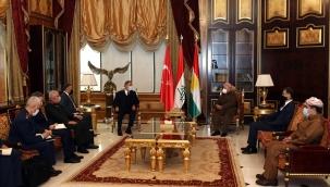 Millî Savunma Bakanı Hulusi Akar ve Genelkurmay Başkanı Org. Yaşar Güler, Erbil'de Önemli Temaslarda Bulundu