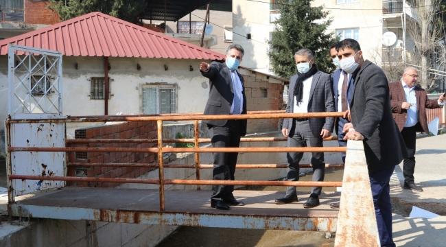 Başkan Sandal,Sel Felaketinin Yaralarını Sarıyor