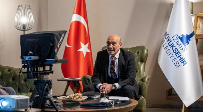 """Başkan Soyer İzmir'in Cittaslow vizyonunu açıkladı """"Kendi kendine yetebilen mahalleler oluşturacağız"""""""