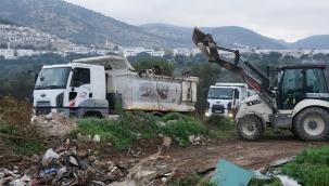 Bodrum'da 17 Kamyon Hafriyat ve Çöp Toplandı