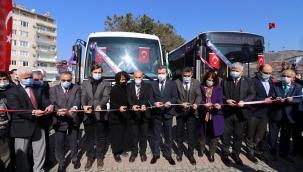 Büyükşehir Belediyesi'nden Bergama Belediyesi'ne iki adet otobüs