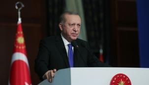 """Erdoğan; """"Son 18 yılda ülkemizin spor altyapısını baştan aşağı yeniledik"""""""
