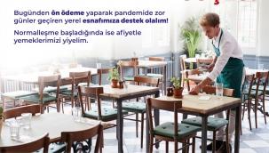 İzmir'de esnafla dayanışma için ön ödeme kampanyası başlıyor