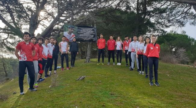 Oryantiring milli takımı Bergama'da kampa girdi