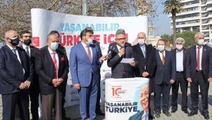 Saadet Partisi İzmir, Erbakan Hoca'yı vefatının 10. yılında andı