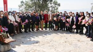 """Başkan Sandal,""""Türk Kadının Gücü Her şeyi Başarmaya Yeter"""""""