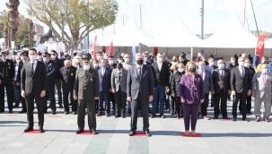 Bodrum'da Çanakkale Zaferi'nin 106.Yılı Töreni Yapıldı