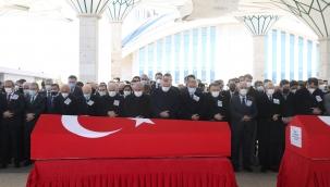 Cumhurbaşkanı Erdoğan, helikopter kazasında şehit olan askerler için düzenlenen cenaze törenine katıldı