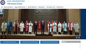 """EÜ """"YÖK Anadolu Projesi"""" Web Portalı yayına girdi"""