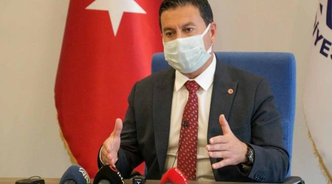 Başkan Aras Bodrum'da Tam Kapanma Süreci İle İlgili Değerlendirmelerde Bulundu