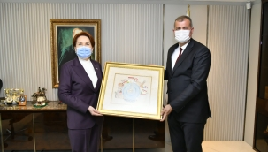 Başkan Duran'dan Akşener'e Ziyaret