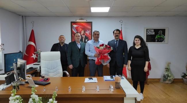 CHP Konak İlçe Başkanı Çağrı Gruşçu'dan 176'ncı Yıl Ziyareti