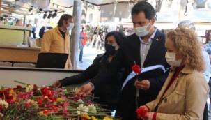 CHP Konak'tan Genç Aslı 'ya Anma Töreni