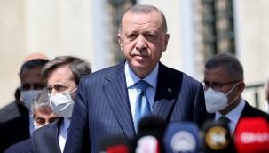Cumhurbaşkanı Erdoğan, cuma namazı sonrası gündeme dair değerlendirmelerde bulundu