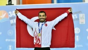 Egeli milli sporcu Arıcan, Avrupa Şampiyonu oldu
