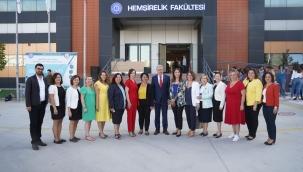 EÜ Hemşirelik Fakültesinden Türkiye'de bir ilk…