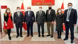 İzmir'de Yapılması Planlanan Türkiye-Irak Ticaret Zirvesi Öncesi TİSİAD Ziyaretlerini Hızlandırdı