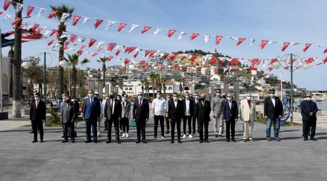 Kuşadası'nda 23 Nisan Ulusal Egemenlik ve Çocuk Bayramı Kutlamaları Başladı