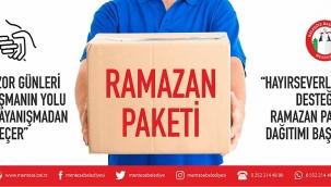 Menteşe Belediyesi, Ramazan Paketi Dağıtımına Başladı