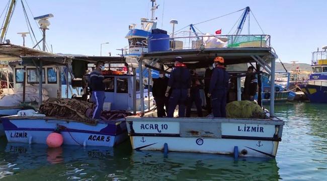 Sahil Güvenlik'ten Körfez'de Şebeke Operasyonu