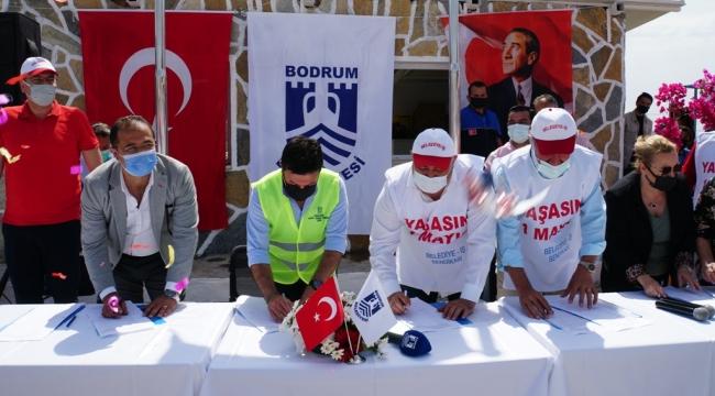 Başkan Aras'tan İşçilere Bayram Müjdesi